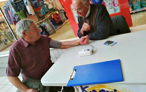 Rotary Club Helps Conquer Stroke