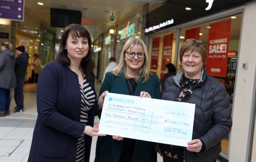 Castlegate Hands Over £5000 To Boost Local Charity